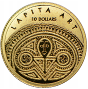 Lapita Art 1g Złota 2008 Proof