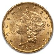 Liberty-S Double Eagle 20 Dollar 1887 Stan 2