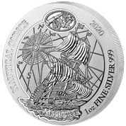 Nautical Ounce: Mayflower 1 uncja Srebra 2020