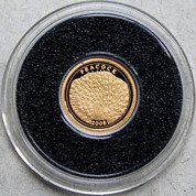 Paw 0,5 g Złota 2008 Proof