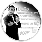 Tuvalu: James Bond Legacy - Sean Connery 1 uncja Srebra 2021