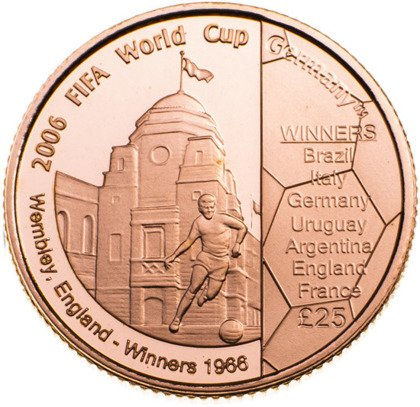 2006 FIFA World Cup Winners Proof