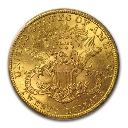 Liberty-S Double Eagle 20 Dollar 1901 Stan 2