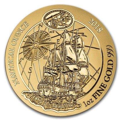 Nautical Ounce: HMB Endeavour 1 uncja Złota 2018