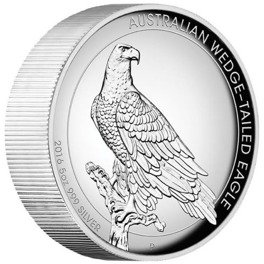 Orzeł Australijski 5 uncji Srebra 2016  Proof High Relief