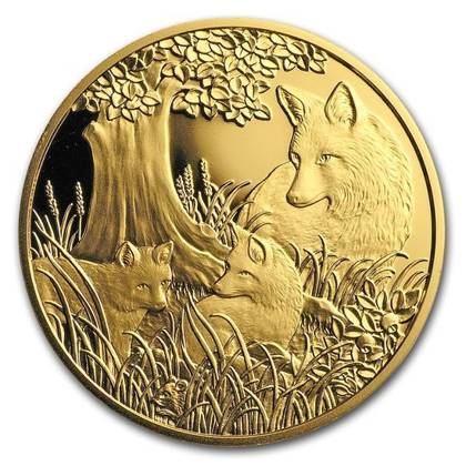 Wildlife in our Sights: Lis 100 Euro 2016 Proof