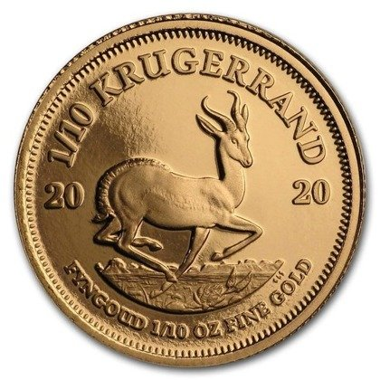 Zestaw 6 monet Krugerrand 2020 Proof