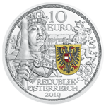 Knights' Tales: Rycerskość 10 Euro 2019 Proof
